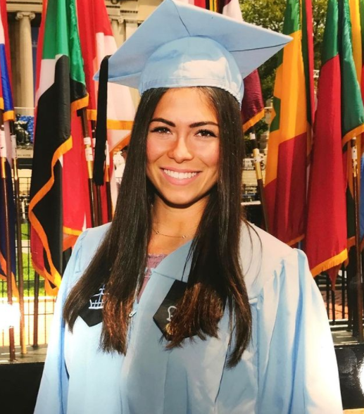 Sydney Segal's Photo Clicked During Her Graduation