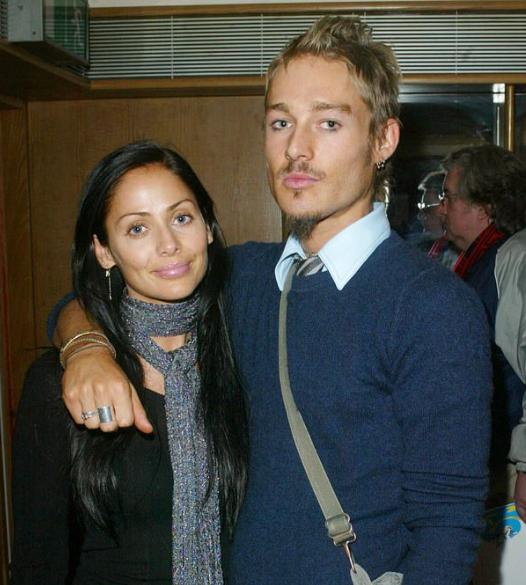 Natalie Imbruglia and her ex-husband, Daniel Johns