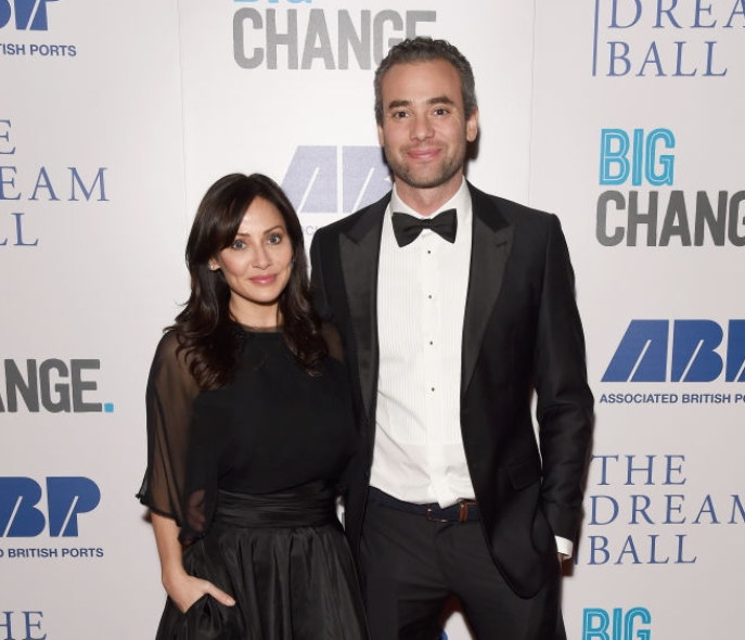 Natalie Imbruglia and her partner, Matt Field