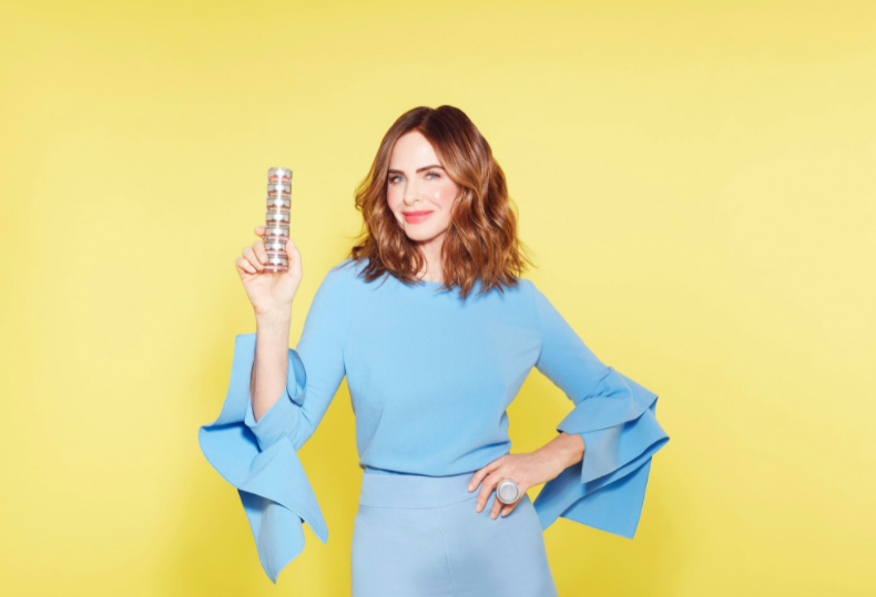 British beauty entrepreneur and TV celebrity, Trinny Woodall