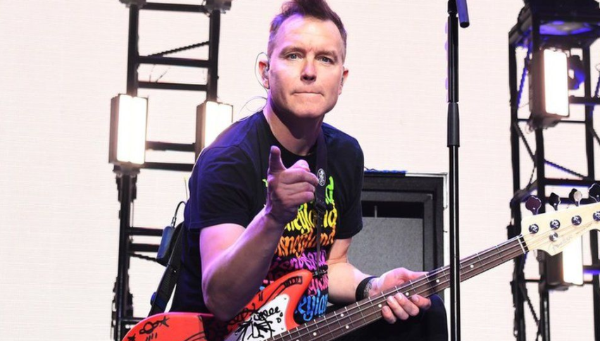 Mark Hoppus, American singer, musician, songwriter, and record producer