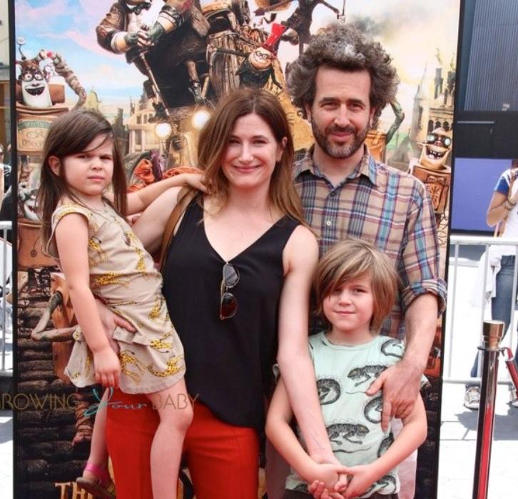 Kathryn Hahn family