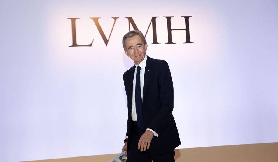 Bernard Arnault, CEO of LVMH Moet Hennessy Louis Vuitton SE