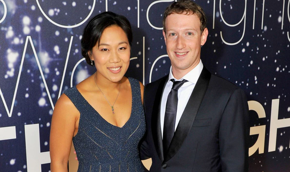 Priscilla Chan and her husband, Mark Zuckerberg
