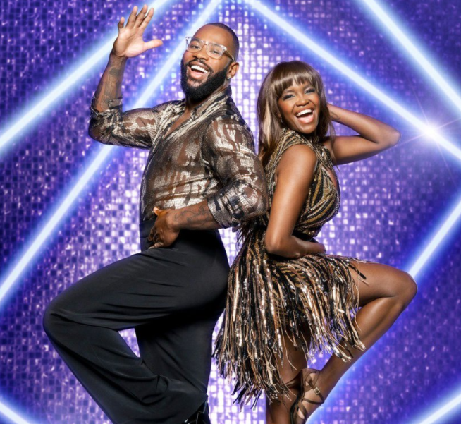 Ugo Monye in Strictly Come Dancing