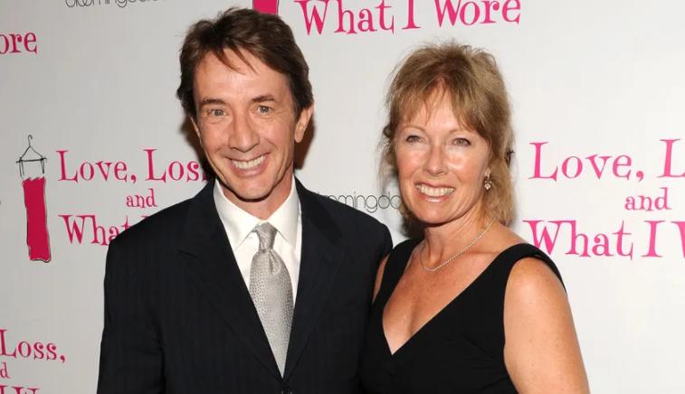 Martin Short and his late spouse, Nancy Dolman