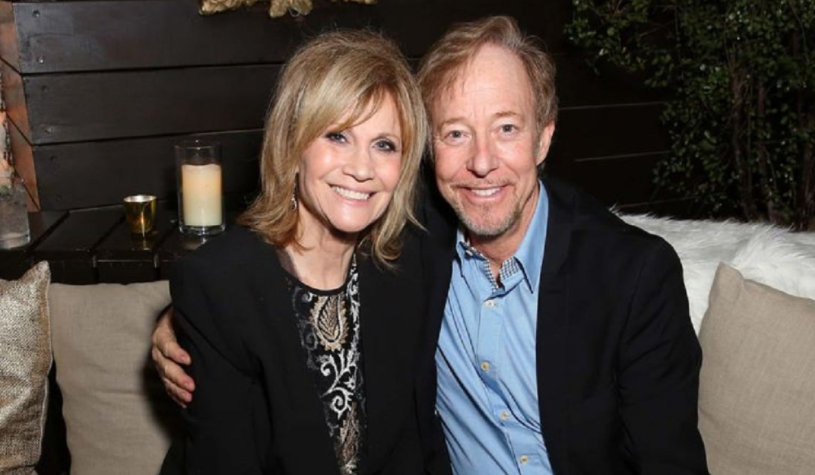 Markie Post and her husband, Michael A. Ross