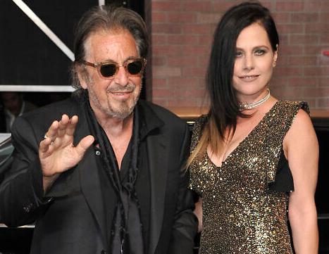 Meital Dohan With Her Boyfriend Al Pacino