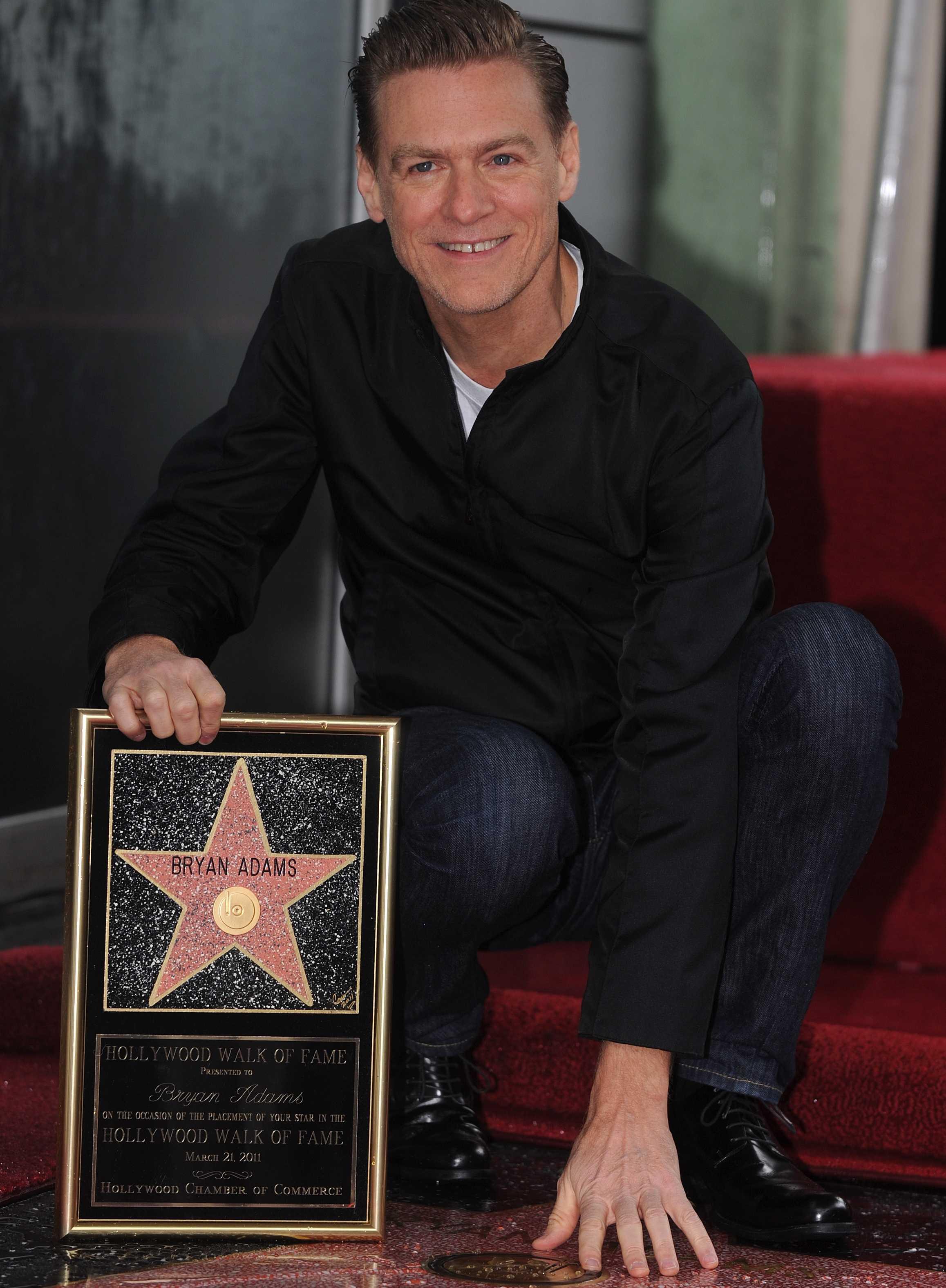 Bryan Adams Awards