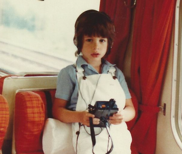 Mark Ronson Childhood Picture