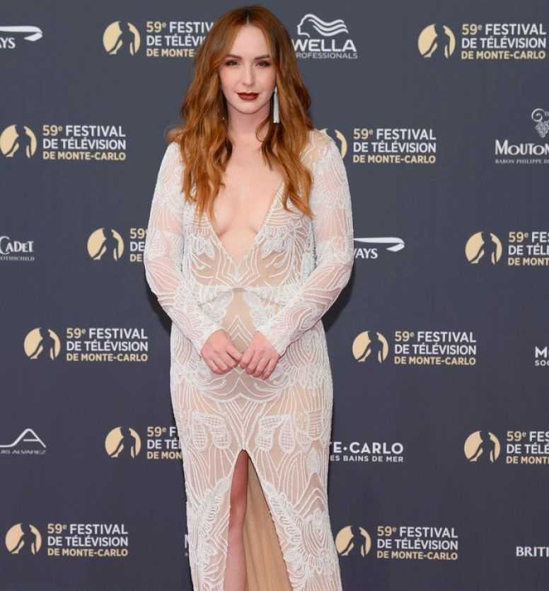 Camryn Grimes at 59th Monte Carlo TV Festival