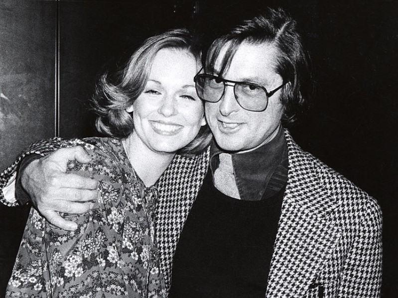 Phyllis George married