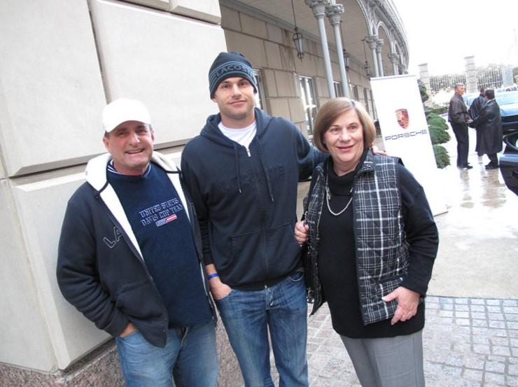 Andy Roddick parents