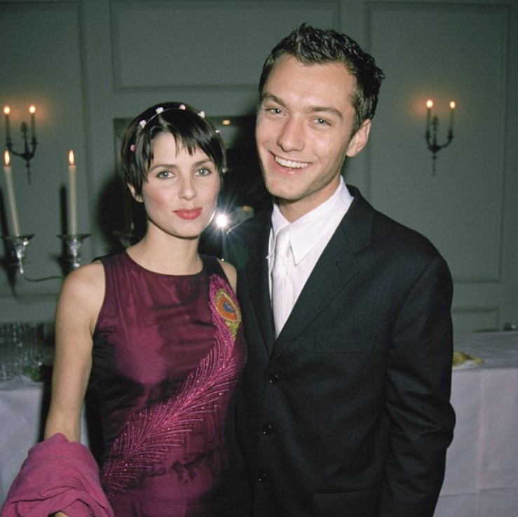 Jude Law Sadie Frost