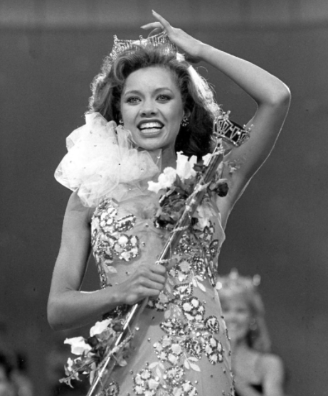 Vanessa Williams was the first African American recipient of the Miss America title