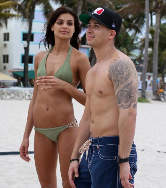 Vinny Guadagnino and his ex-girlfriend Romona Nitu
