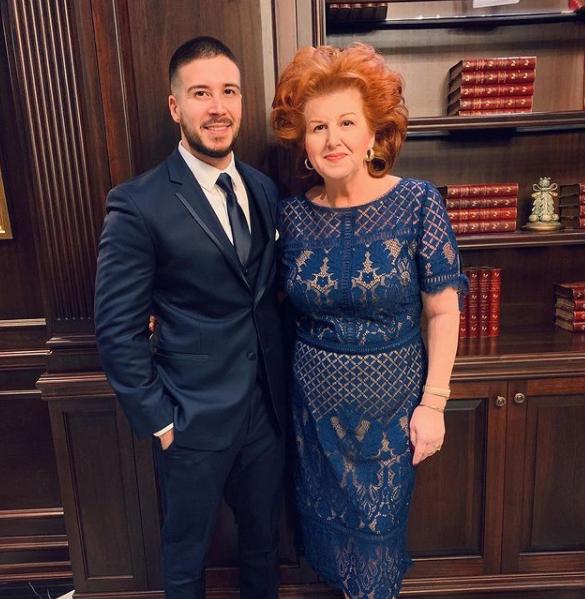 Vinny Guadagnino and his mom