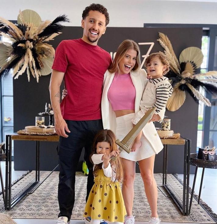 Marquinhos family