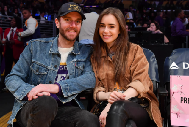 Charlie McDowell and his girlfriend, Lily Collins