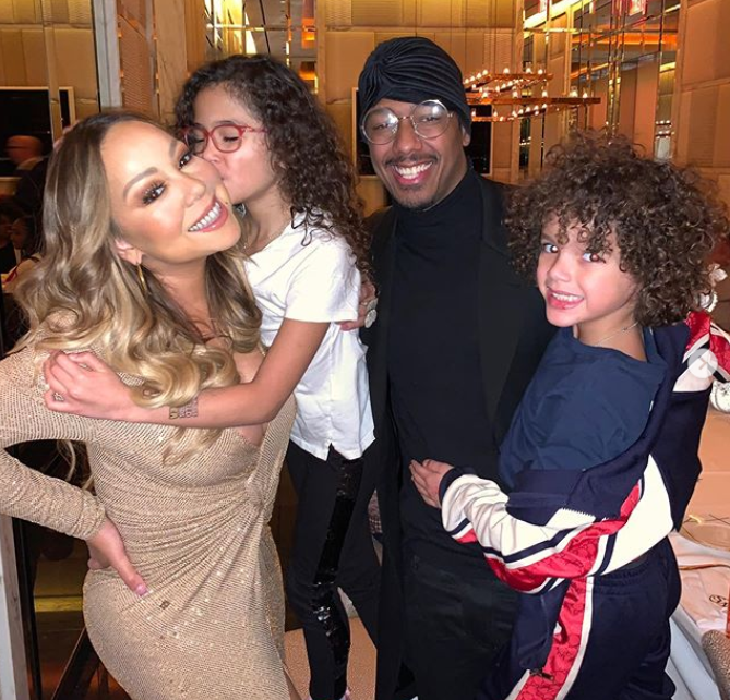Mariah Carey Family Thanksgiving