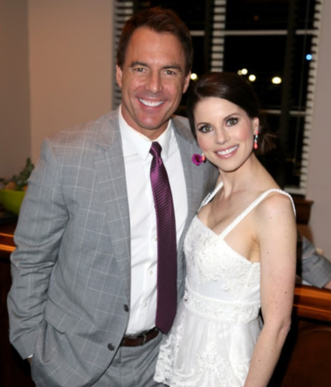 Mark Steines wife